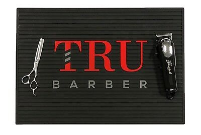 $24.99 • Buy Barber Mat, Barber Station Mat,trubarber Professional Mat, BLACK/RED