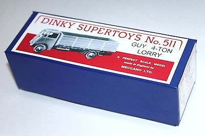 £6.99 • Buy DINKY Reproduction Box 511 GUY 4-Ton Lorry