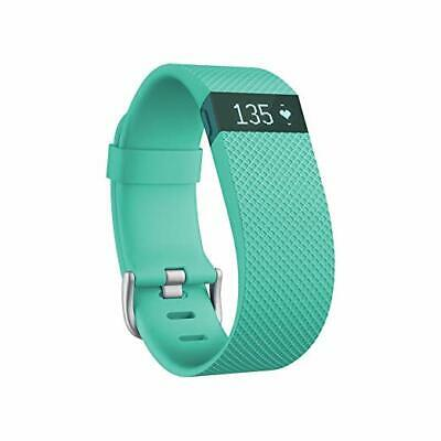 $39.49 • Buy Fitbit Charge HR Heart Rate Fitness Activity Sleep Tracker Wristband TEAL LARGE