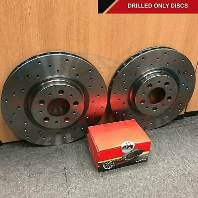 £129.98 • Buy FOR FORD FIESTA ST ST150 MK6 FRONT CROSS DRILLED BRAKE DISCS MINTEX PADS 278mm