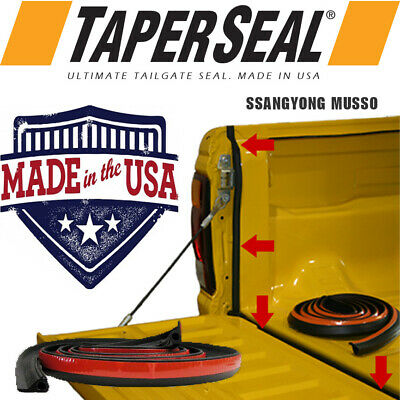 AU39.90 • Buy Tailgate Seal Kit For Ssangyong Musso Rubber Ute Dust Tail Gate Made In Usa