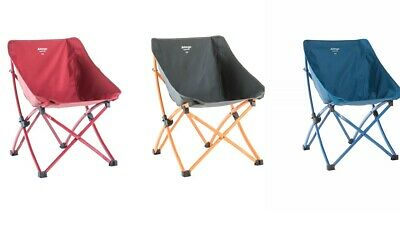 Vango Pop Chair - Wrap Around Style Folding Camping Chairs - Blue, Red Or Grey • 26.99£