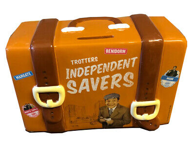 Only Fools And Horses Official Del Boys Travel Suitcase Money Box (with Stopper) • 11.99£