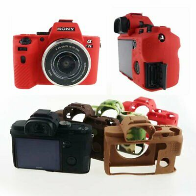 $ CDN11.75 • Buy Soft Silicone Camera Case For Sony A7 II A7II A7R Rubber Protective Body Cover