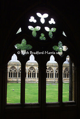 Gothic Cloisters Windows Abbey Silhouette Art Photograph, Mounted Print, Cards • 24.95£