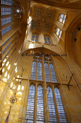 Sunlight Gothic Church Tower Windows Interior Art Photograph Mounted Print Cards • 24.95£
