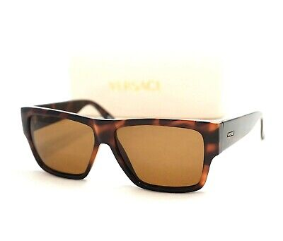 078180b4ced84 Gianni Versace Authentic 372 Sunglasses Vintage Brown Tortoise Medusa Gold  • 169.99