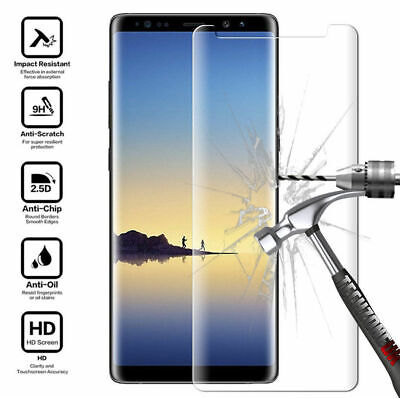 $ CDN5.99 • Buy Tempered Glass Screen Protector For Samsung Galaxy S9 S8 S7 Edge Plus Note 8 A5