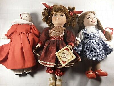 $ CDN48.40 • Buy Porcelain Doll Lot Free Shipping