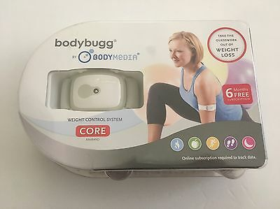 $24.99 • Buy Bodybugg By Body Media Weight Loss Control System Core NEW SEALED