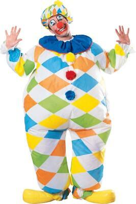 $ CDN63.46 • Buy Clown Inflatable Fat Circus Carnival Fancy Dress Up Halloween Adult Costume