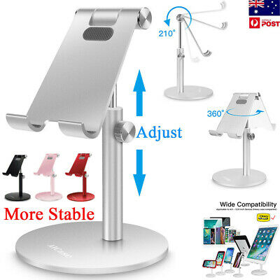 AU24.99 • Buy Universal Adjustable Tablet Phone Desk Stand Holder Mount Mobile IPad IPhone PC