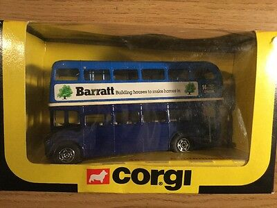 $ CDN15.51 • Buy 1980's  Corgi 469 Double Decker Routemaster Bus With Barrett
