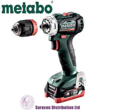 Metabo Powermaxx Bs 12 Bl Q 12v Brushless Drill/driver - 601039800 • 196.90£