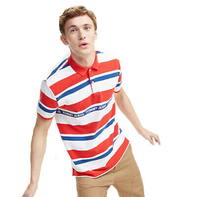 official photos 4a3ce 55374 polo tommy hilfiger uomo bianca