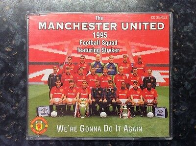 THE MANCHESTER UNITED FOOTBALL - 1995 SQUAD We're Gonna Do It Again - CD Single • 2.99£
