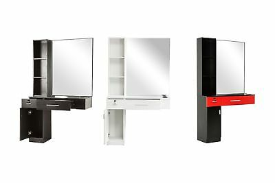 $259.90 • Buy BarberPub Wall Mount Hair Styling  Barber Station Mirrors Salon Equipment 3036