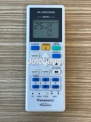 AU31.95 • Buy Air Conditioner Remote Control For Panasonic Models CWA75C3217, A75C3217