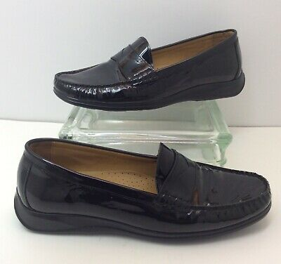 eb566e2d007 Cole Haan NikeAir Patent Leather Penny Loafers Dress Shoes D29534 Women s  Sz 8 B • 29.39