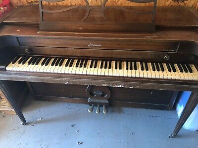$300 • Buy BALDWIN ACROSONIC SPINET PIANO W Bench, Used, As-is, Pick-up Only, Potomac MD