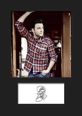 £3.79 • Buy SHANE FILAN Signed Photo Print A5 Mounted Photo Print - FREE DELIVERY