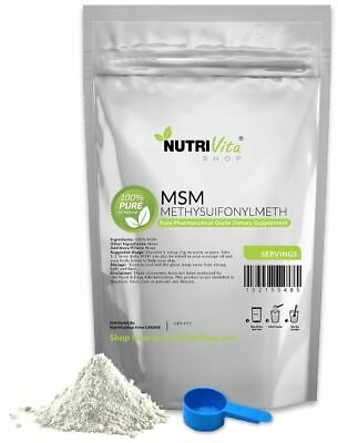 AU15.66 • Buy 100% Pure Msm Powder - Joint Pain & Arthritis Relief Pharmaceutical Vegan Nongmo