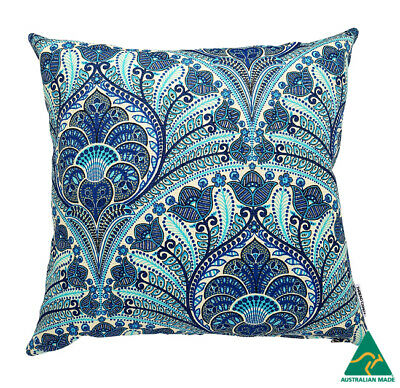 AU45 • Buy Blue Moroccan Indoor/Outdoor Cushion Cover (Australian Made)