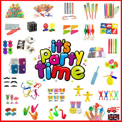 £1.89 • Buy Children's Kids Party Goody Gift Bag Fillers Toys Colourful HUGE Selection 1-100