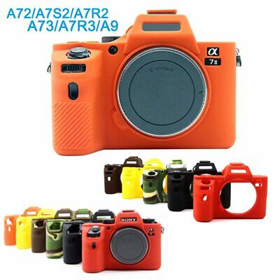 $ CDN13.91 • Buy Soft Silicone Camera Case Rubber Bag Cover For Sony A9 A7R3 A7III A72 A7S2 A7R2
