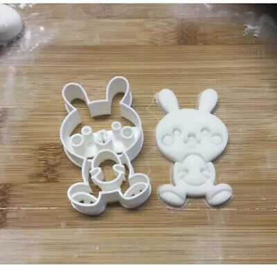 £4.50 • Buy Rabbit Bunny Easter Egg Shape Cookie Cutter Biscuit Pastry Fondant
