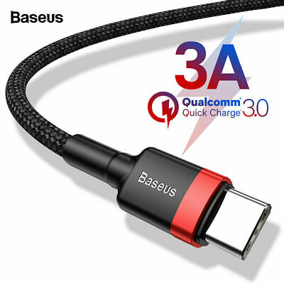 AU7.45 • Buy QC3.0 USB Type C Fast Charging Cable For Samsung Galaxy S8 S9 S10 Note 10 Plus