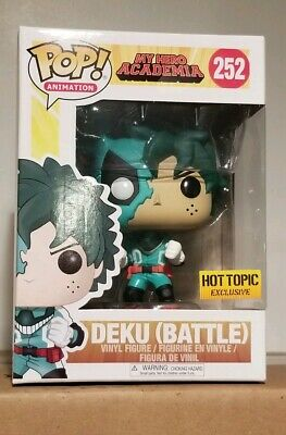 $24.99 • Buy Funko POP Hot Topic My Hero Academia Battle Deku #252 Ready To Ship Fast  Free