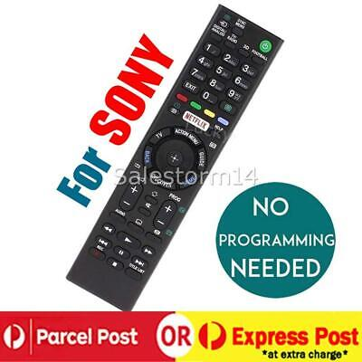 AU13.95 • Buy Replacement SONY BRAVIA TV NETFLIX Universal Remote Control LCD LED Series