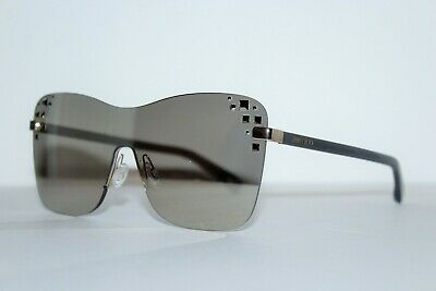 AU263.57 • Buy New Jimmy Choo Mask/s 138 M3 Rose Gold Grey Mirror Authentic Sunglasses 99-01 Mm