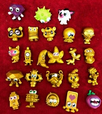 £19.99 • Buy Moshi Monsters Toy Figure Bundle  Lot #6  Gold & Others