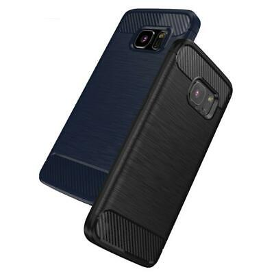 $ CDN4.29 • Buy Carbon Fiber Soft TPU Cover Case For Samsung Galaxy S8