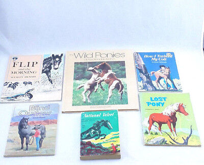 £14.17 • Buy Vintage HORSE Books Theme Childrens Book Lot