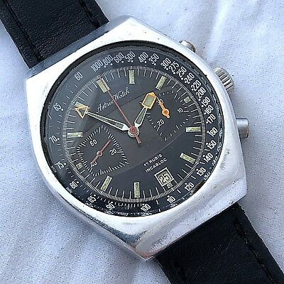 $ CDN922.74 • Buy Vintage Astree Watch Chronograph Manual Wind Ref Val 7734 40 Mm Snap In Case