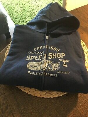 NWT DISNEY PARKS DISNEYLAND CARS LAND RADIATOR SPRINGS HOODIE Youth X-LARGE • 29.94£
