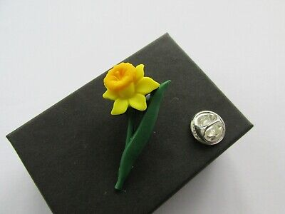 £4.25 • Buy Handmade Yellow Spring Daffodil Brooch Pin  Gift Boxed  Marie Curie Charity