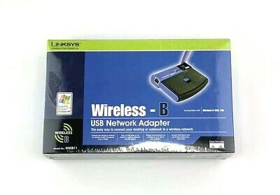 $16.95 • Buy Linksys Cisco Wireless B USB Network Adapter WUSB11 New Sealed Box 2.4 GHz