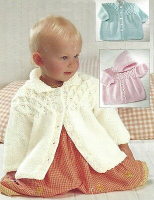 £1.99 • Buy Baby Childrens Chunky Coats Knitting Pattern 3 Months To 7 Years  (1297)