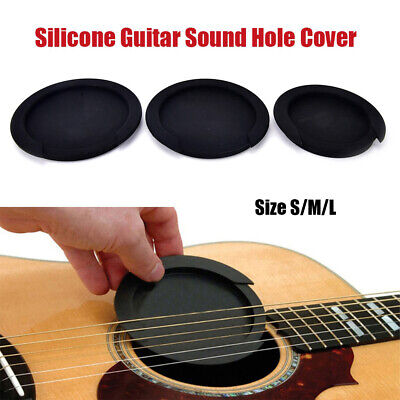 £4.12 • Buy Guitar Parts Silicone Acoustic Sound Hole Cover Feedback Buster Buffer Block