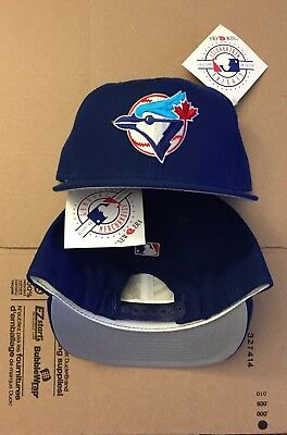 buy online c854c 657ca Vtg NWT Toronto Blue Jays Snapback Hat Cap 90s 80s New Era USA Made World  Series