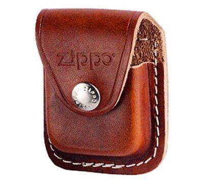 $11.20 • Buy Zippo Leather Pouch, Brown Leather With Belt Loop, For Windproof Lighters #LPLB