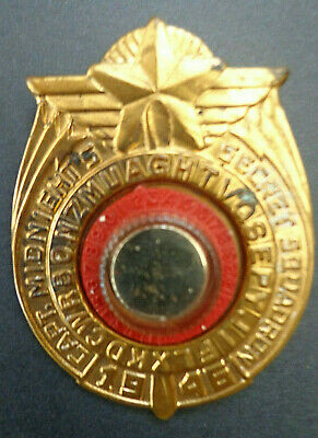 $115 • Buy Vintage 1946 Captain Midnight Secret Squadron Decoder Badge & Manual INV2802
