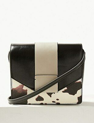 £20 • Buy Marks & Spencer Faux Leather Cross Body Bag