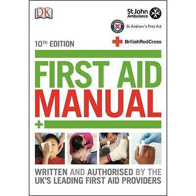 £7.45 • Buy 10th Edition First Aid Manual Book - 2015 Update - St John Ambulance / Red Cross