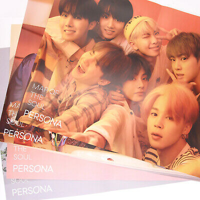 $4.90 • Buy [BTS]MAP OF THE SOUL:PERSONA Official FOLDED Poster/ver.1,2,3,4,All