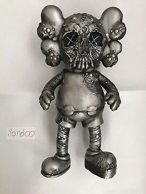 $2735.89 • Buy KAWS Pushead Companion (Silver), 2005